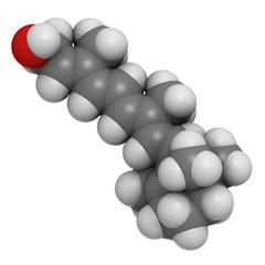 Vitamin A (retinol) molecule