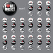 All musics badges