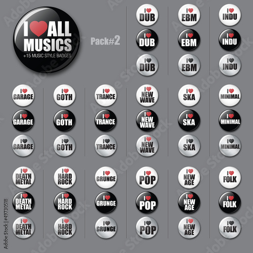 All musics badges #2