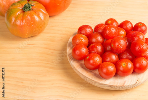 Cherry  and other tomatoes