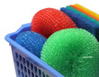 Kitchen Scrubber on a basket