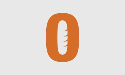 Concept logo baguette