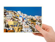 Greece photography in hand