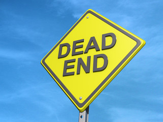 Dead End Yield Sign