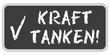 CB-Sticker TF eckig oc KRAFT TANKEN!