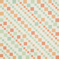 square diagonal pattern on paper texture