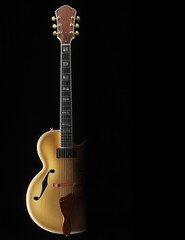 custom jazz guitar