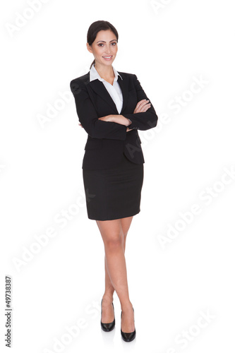 Portrait Of A Young Attractive Business Woman