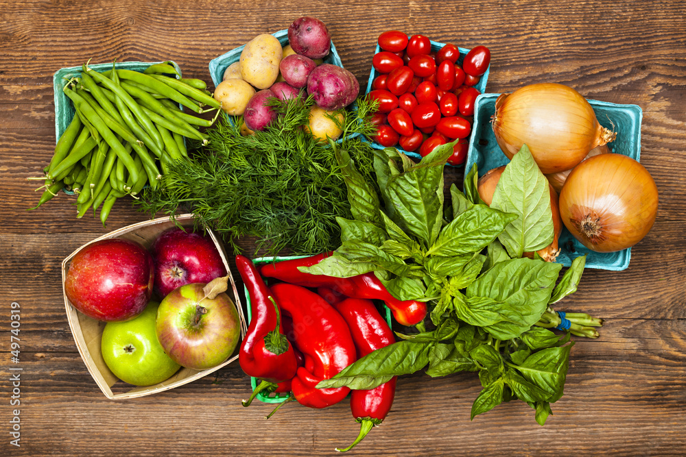 owoc warzywo rynek - powiększenie