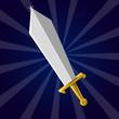 Shining sword