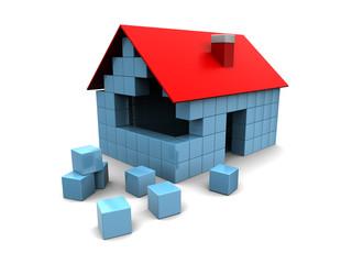house construction concept