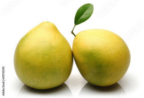 Two Pomelo fruit