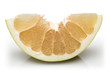 Sliced Pomelo fruit
