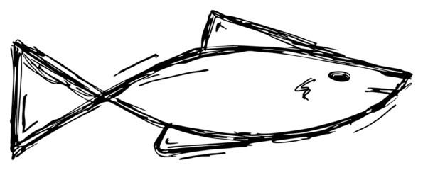 Fisch-Silhouette