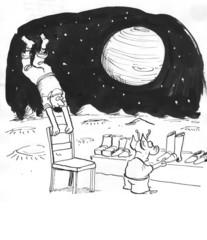 Alien offers gravity boots