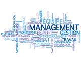 """Nuage de Tags """"MANAGEMENT"""" (équipe gestion ressources humaines)"""