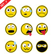 Emoticon set - 7