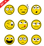 Emoticon set - 6