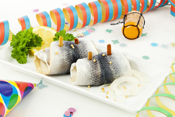 Rollmops am Morgen nach der Party