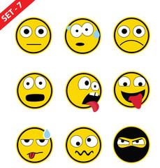 Emoticon set - 7