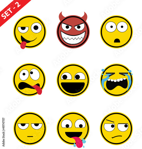 Emoticon set - 2