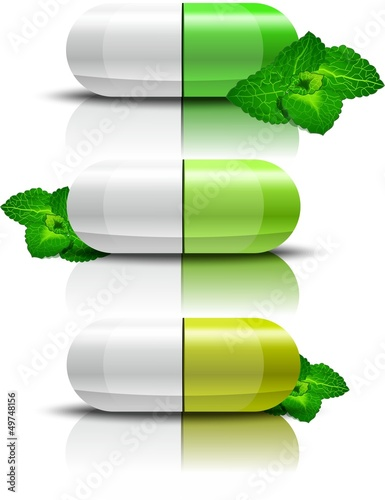 vitamins with mint