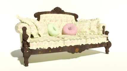 Klassisches Sofa 5