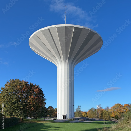Water tower Svampen in Orebro, Sweden