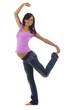 Schwangere Frau tanzt - Lebensfreude