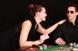 Paar beim Pokern