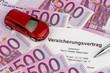 Versicherungsvertrag für neues Auto