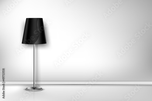 Floor Lamp wall