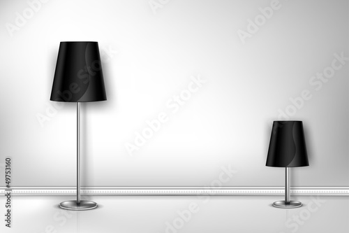 Floor Lamp two wall
