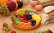 Torta di frutta fresca - Fruit cake