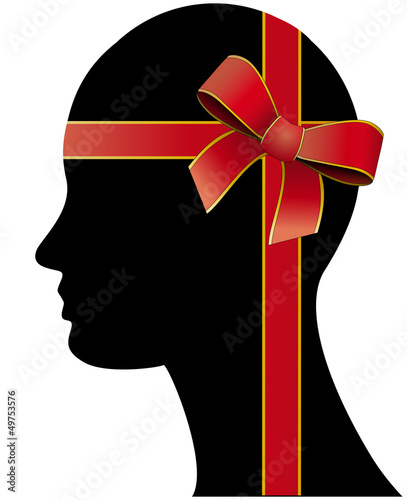 ribbon head