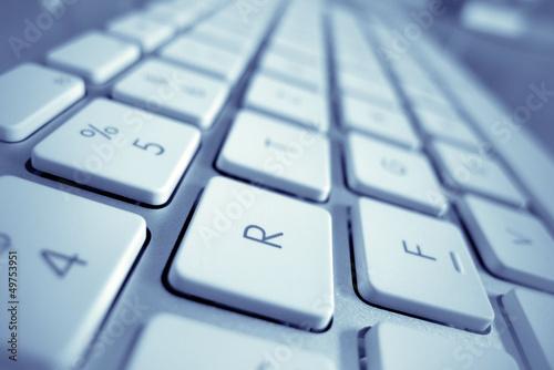 Tasten eines Computers