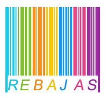 Kolor etykiety tworząc prześwit na kod kreskowy