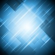 Abstract blue shiny vector design