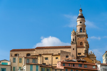 Basilica of Saint-Michel-Archange in Menton - France