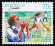 Postage stamp Australia 1981 Cricket, Australian Sport