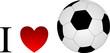 Fußball Fan Liebe