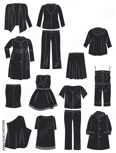 Women's clothing for complete