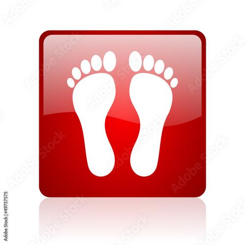 互联网商业图标广场手指打印按摩按钮海滩登录网页红色脚腿自然设置象