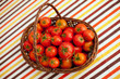 Tomatoes from a rustic farm