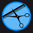Barber tools - vector illustration