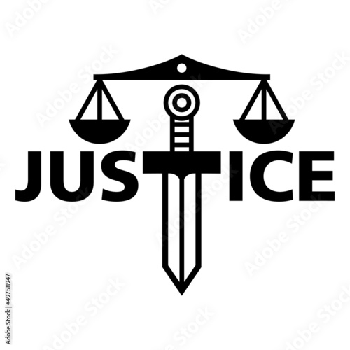 Justice weight sword truth court law judge