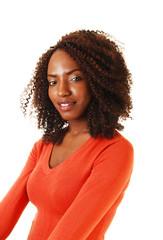 Portrait of black girl.