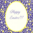 Easter card, vector
