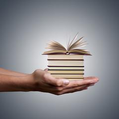 concepto del conocimiento e información