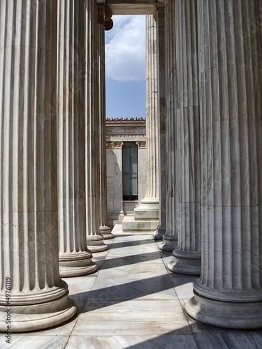 Staande foto Athene columns